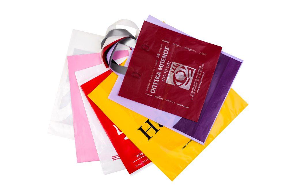 Πλαστικές Σακούλες Με Χειρολαβή Soft Loop Για καταστήματα