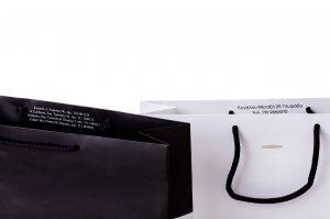 Χάρτινες Σακούλες Με κορδόνι- Εκτυπωμένο με λογότυπο - περιορισμένο τεμάχιων