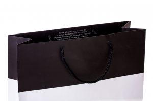 Χάρτινες Σακούλες Με κορδόνι- Εκτυπωμένο με λογότυπο - περιορισμένο τεμάχιων- δυο χρώματα