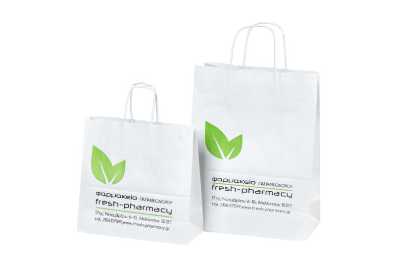 a97ba0217d9 Χάρτινες Τσάντες Φαρμακείου – Mans Packaging   Είδη Συσκευασίας